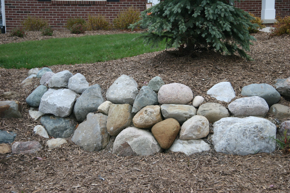Natural Retaining Walls New Leaf Landscaping
